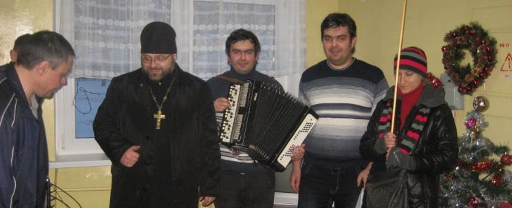 отец Виталий Грак с членами Православного Братства